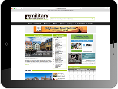 Online advertising on the website of our american lifestyle portal Military In Germany