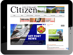 Online advertising on the website of our military newspaper The Citizen