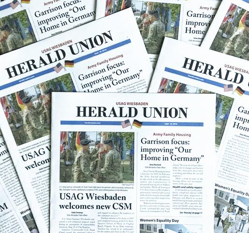 Herald Union, die amerikanische Zeitung im Raum Wiesbaden